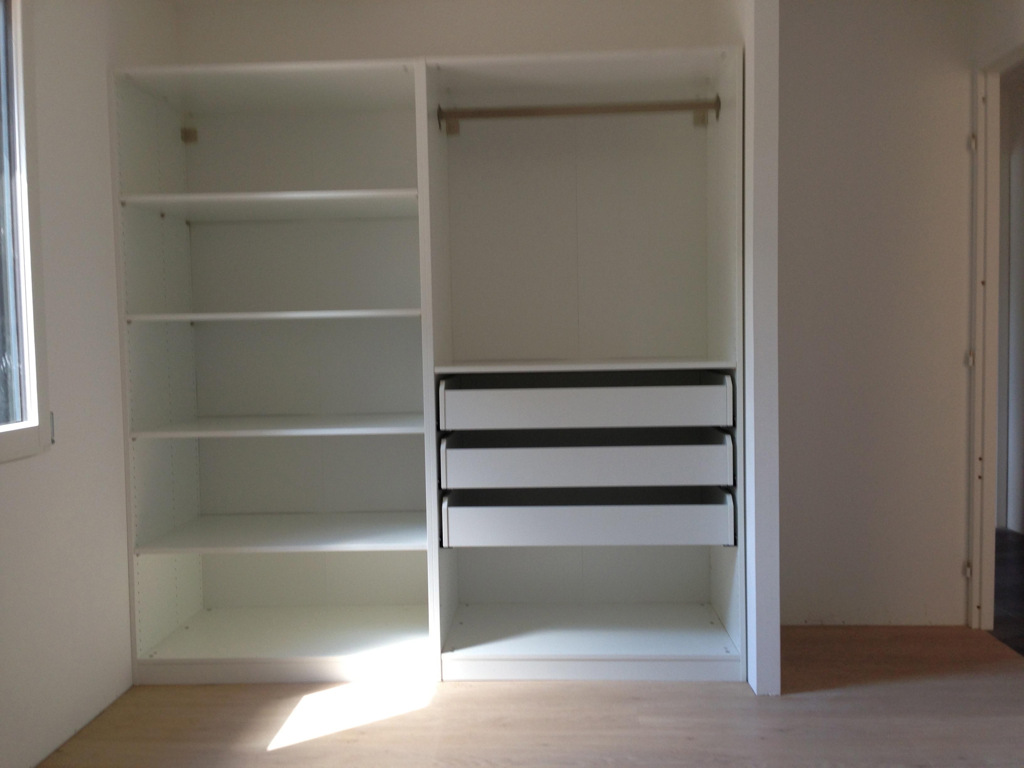 Mon placard double facette - Comment amenager un placard de chambre ...