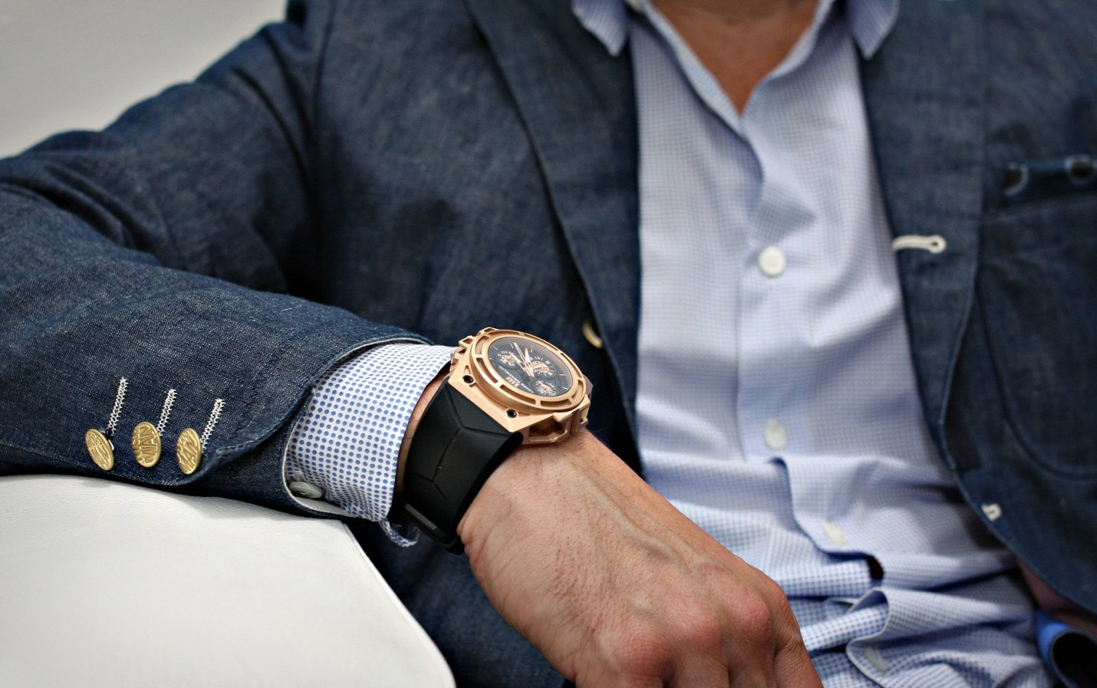 Montre de luxe j 39 ai enfin achet le mod le de montre pour homme qui me correspond - Montre de luxe homme ...