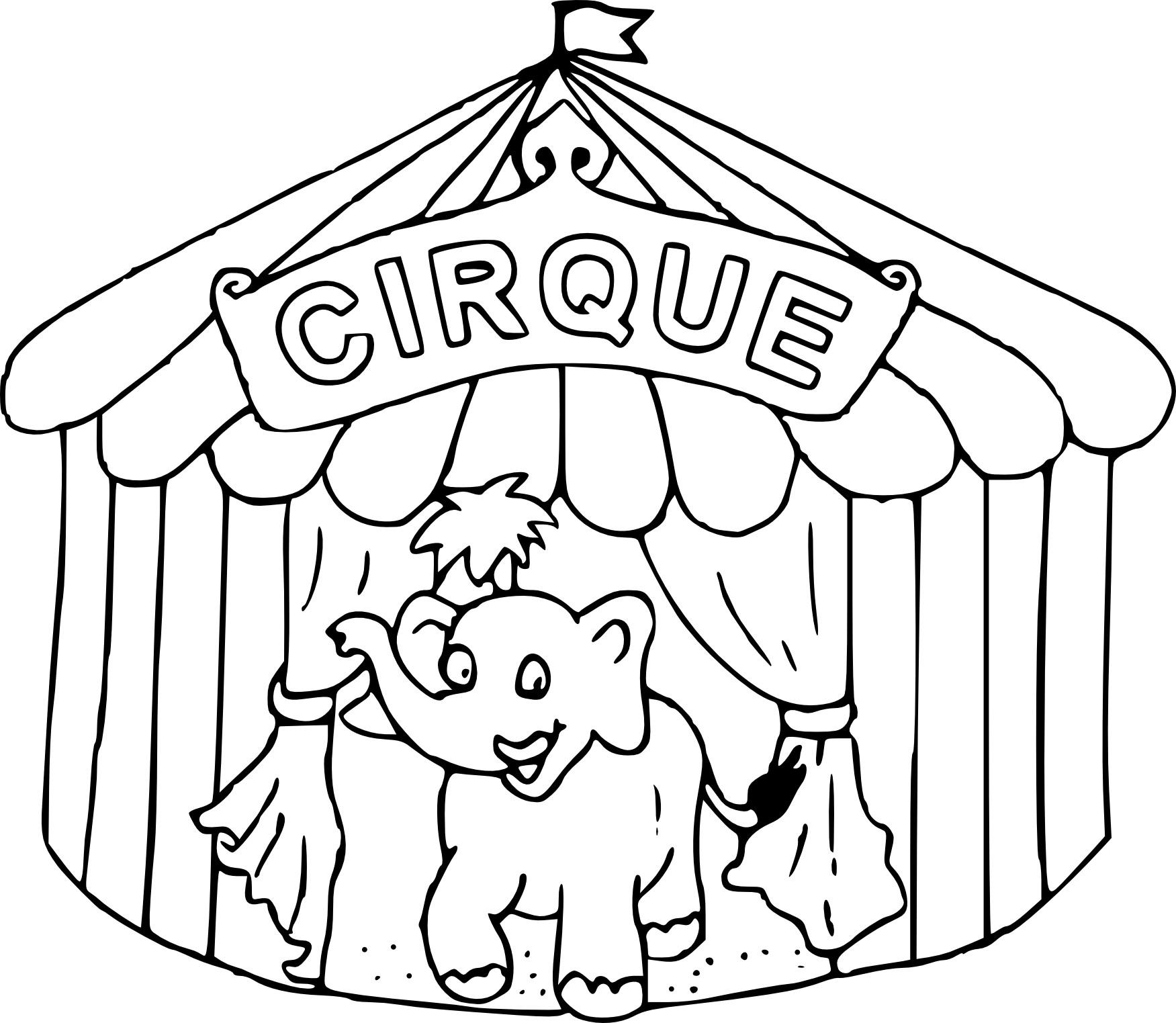 Comment dessiner un chapiteau de cirque - Dessin d un chapiteau de cirque ...